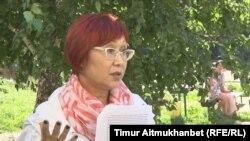 Роза Манаканова, житель города Павлодара. 2 августа 2016 года.