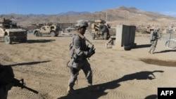 Патрола на НАТО силите во Авганистан