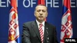 Recep Tayyip Erdogan u poseti Beogradu 2010. godine