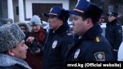 Презентация туристической милиции в Бишкеке. 28 декабря 2018 года.