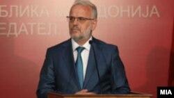 Претседателот на Собранието, Талат Џафери