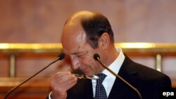 Preşedintele Traian Basescu