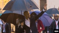 Президент Обама по прилете в Гавану. 20 марта 2016 г.