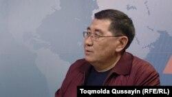 Руководитель и издатель газеты «Дат» Ермурат Бапи.