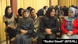 Ҳамоиши занони афғон дар Душанбе