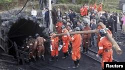 Рятувальна операція на шахті в Китаї (ілюстративне фото)