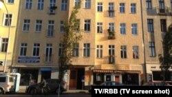 Casa în care a locuit prezumtivul terorist (Foto: TV/RBB)