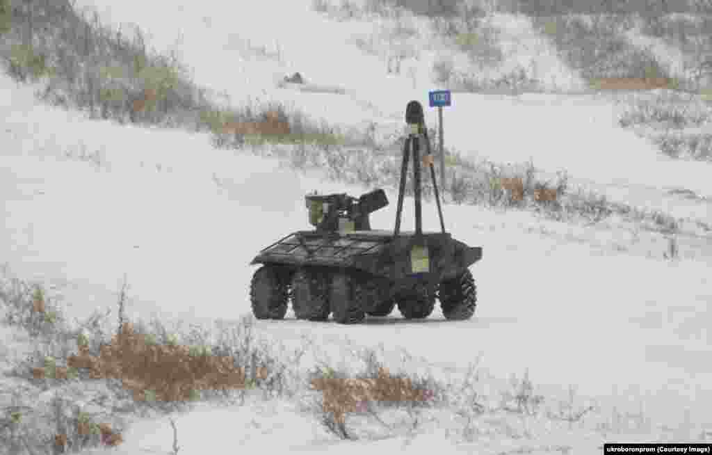 "One military expert told RFE/RL's Ukraine Service, ""If [a patrol] goes out at night and this robot is chugging along next to us, we can be seen and heard from two kilometers away.... So I say [to the developers], 'Guys, this robot is cool, but keep it for yourselves.'"""