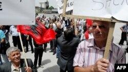 Poslednji protest za prava radnika na Kosovu je održan u maju prošle godine