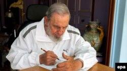 Ish-presidenti i Kubës, Fidel Castro.