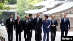 Juncker sa ostalim liderim G7 u Japanu 26. maja 2016.