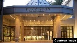 """""""Туркистон"""" мамлекеттик резиденциясы."""