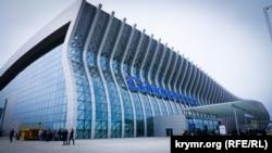 Новый терминал аэропорта «Симферополь», апрель 2018 года