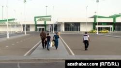 Международный аэропорт Ашхабада, июнь, 2018 (иллюстрация)