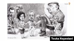 احمد کریمی حکاک و مهمانانش؛ کاری از توکا نیستانی