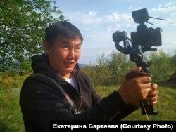 Журналист из Бурятии Дмитрий Баиров