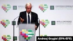 Претседателот на Светска агенција Крег Риди