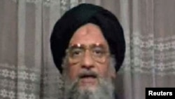 An Arab TV news channel has reported that Ayman al-Zawahri is the new leader of Al-Qaeda