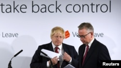Michael Gove i Boris Johnson