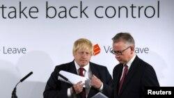 Michael Gove i Boris Johnson