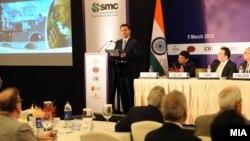 Премиерот Никола Груевски во роуд шоу за привлекување странски инвестиции во Индија.