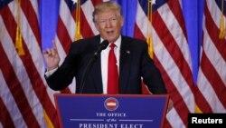 ABŞ-ın yeni seçilmiş prezidenti Donald Trump