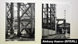 Две фотографии Жана Паоло Минелли, сделанные на заводе компании «Казцинк». Алматы, 17 мая 2016 года.