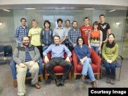 Istraživački tim studenata profesora Huterera