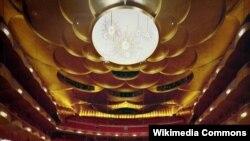 Imagine din sala Operei Metropolitane din New York.