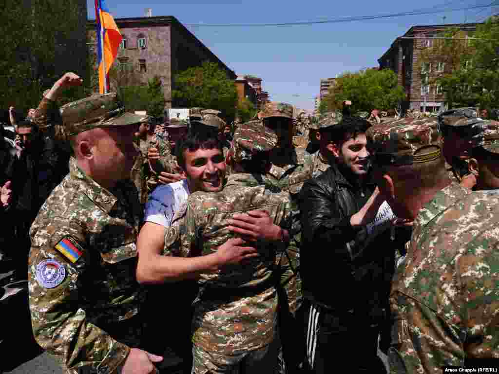 A new, large gathering has been scheduled for 7 p.m. local time in Yerevan's central Republic Square, calling for the government to resign.