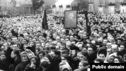 Похорон Сталіна. Архівне фото.
