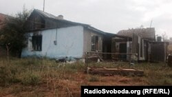 Пошкоджені будинки ромів у Лощинівці