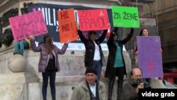 Kampanja protiv nasilja nad ženama, Beograd, 14. februar 2014.