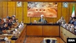 دیدار حسن روحانی با نمایندگان مجلس.