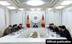 Рабочее совещание с участием президента по ситуации на границе, 13 января 2020 г.
