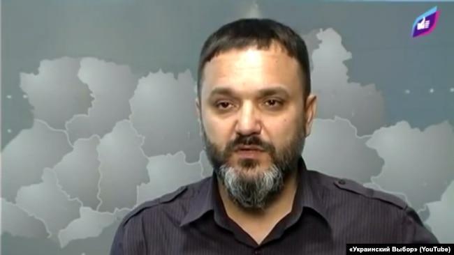 Засновник і керівник компанії «Детективне охоронне агентство «Шторм» Віктор Чорний (Скріншот із відео з каналу «Украинский Выбор»)
