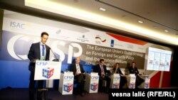 """Međunarodna konferencija """"Globalne strategije spoljne i bezbednosne politike EU i Zapadnog Balkana"""", Beograd, 14. jul 2016."""
