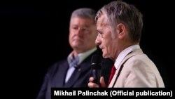 Петр Порошенко и Мустафа Джемилев