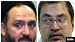 سعید حجاریان (راست) و محمدعلی ابطحی (چپ)