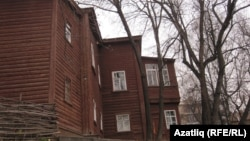 Дом, в котором жил Владимир Ленин. Казань, ноябрь 2010 года.