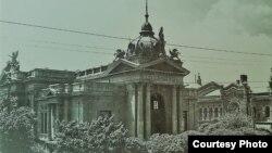 Chișinăul în anul 1920 (Foto: I. Țurcanu, M. Papuc, Basarabia în actul Marii Uniri de la 1918)