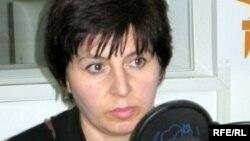 Лидер общественной организации «Голос Беслана» Элла Кесаева