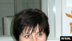 Лидер организации «Голос Беслана» Элла Кесаева в студии Радио Свобода