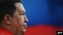Уго Чавес, президент Венесуэлы.