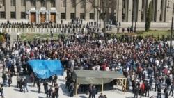 Митингующие во Владикавказе потребовали отставки властей
