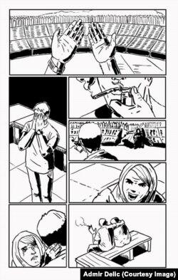 """Stranica stripa """"Prešli su"""""""