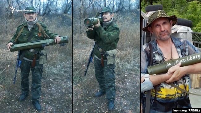 Фотографии из соцсетей экс-боевика группировки «ДНР» Владимира Дусмуханова
