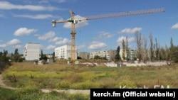 Строительство детского сада в микрорайоне Марат-2, Керчь