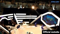 Коомдук Биринчи каналдын теледебат өткөргөн студиясы