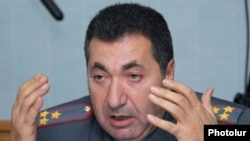Armenia - Colonel Margar Ohanian, chief of the national road police.